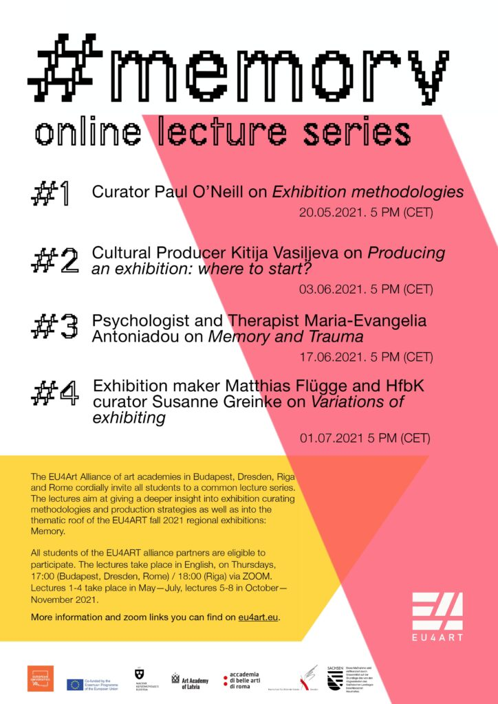Programm Online Lecture Memory Serie